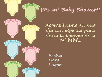 Movanaqe Texto Para Invitaciones De Baby Shower